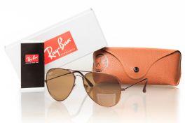 Солнцезащитные очки, Ray Ban Aviator 3027br-br