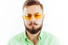 Водительские очки L03 yellow
