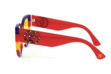 Женские очки Gucci 3876-blue-red